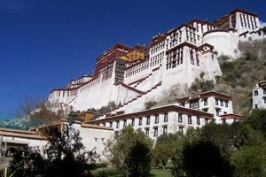 Potala paleis - Lhasa - China