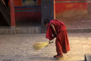 tashilhunpo monastery monnik Shigatse