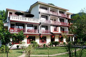 voorkant hotel Snow Lion Resort Yangshuo - Snow Lion Resort - China