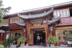 voorzijde Wangfu Hotel in Lijiang - Wangfu Hotel Lijiang - China
