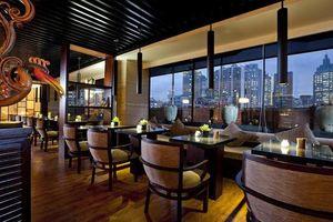 bar en restaurant van Shanghai SSAW Nara Boutique Hotel -  Shanghai SSAW Nara Boutique Hotel - China - foto:  Shanghai SSAW Nara Boutique Hotel