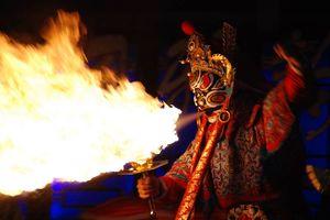 Sichuan opera in Chengdu (1) - Chengdu - China - foto: Roselien van der Wielen