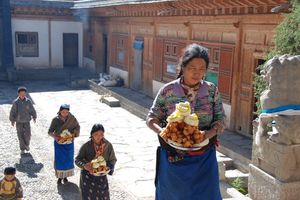 Labrang klooster in Xiahe (1) - Xiahe - China