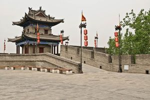 muur - Xi'an - China