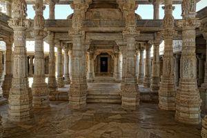 detail - Jain Tempel - Ranakpur - India - foto: pixabay