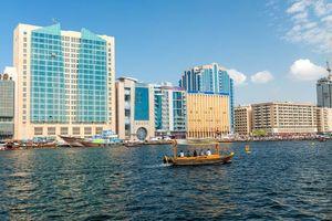 Flats vanuit het water - Dubai