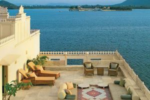 terras kamer - Taj Lake Palace - Udaipur - India