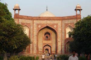 Ingang Humayun's Tomb