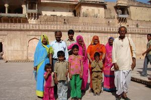 Indiaase familie