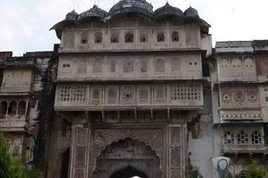 Karauli City Palace voorzijde