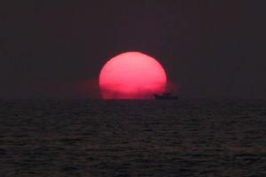 Zonsondergang in Mararikulam