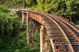 Rails, Nilgiri mountain, Mettupalayam  (Ooty)
