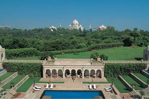 Uitzicht vanuit The Oberoi Amarvilas in Agra - The Oberoi Amarvilas - India