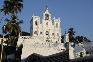 Het Panjim Immaculate Conception in Goa (2) - India