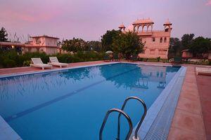 zwembad van Sher Garh in Ranthambore - Sher Garh - India