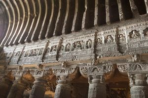 Ajanta caves in Aurangabad - Aurangabad - India