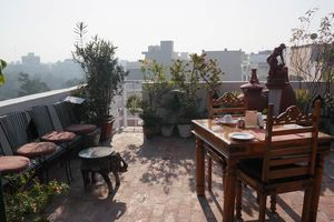 dakterras restaurant - Shanti Home - India