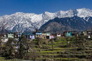dorpje in Ladakh - Ladakh - India