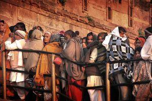 Kumbh Mela pelgrims - Kumbh Mela - India