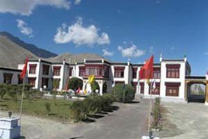 Hotel Skittsal vooraanzicht in Ladakh - Ladakh - India
