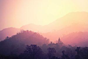 tempel in Rishikesh - Rishikesh - India