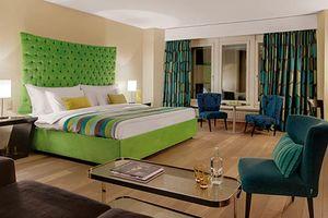 slaapkamer van Hotel White City in Anandpur Sahib - Hotel White City - India
