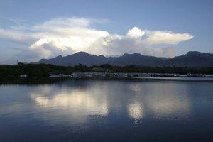 uitzicht meer - Novus Gawana Resort - Menjangan Bay, Banyuwedang - Indonesië