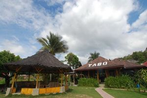vooraanzicht - Tabo Cottages - Samosir Island - Indonesië
