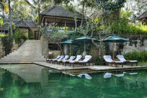 zwembad - Komaneka at Tanggayuda - Ubud - Indonesië
