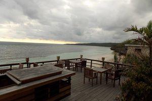 restaurant Anda Beach Hotel - Bira - Sulawesi - Anda Beach Hotel Bira - Indonesië