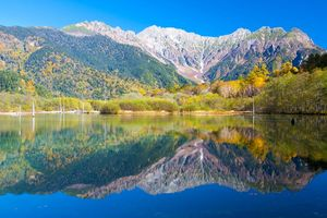 Hotaka Ranges, Taisho Lake, Kamikochi - Kamikochi - Japan