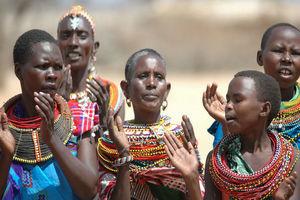 vrouwen Samburu stam