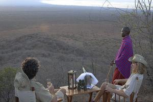Severin Safari Camp Bush Meal - Severin Safari Camp - Tsavo West - Kenia