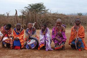masai vlilage elerai - masai vilage elerai - Amboseli - Kenia