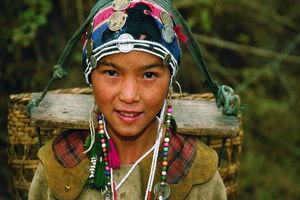 Muang Sing Meisje - Laos