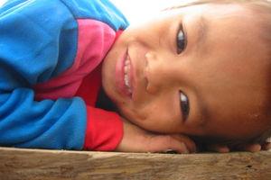 Hmong jongetje - Laos