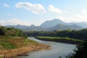 Mekong rivier - Laos