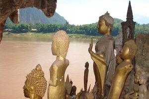 Pak Ou Caves buitenkant - Pak Ou - Laos