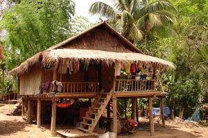 Tai Leu dorp - Mekong River Cruise - Laos