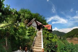 vooraanzicht Pak Beng Lodge - Pak Beng Lodge - Laos