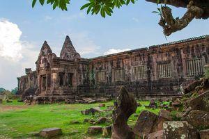 Wat Phu kasteel, Champasak - Laos
