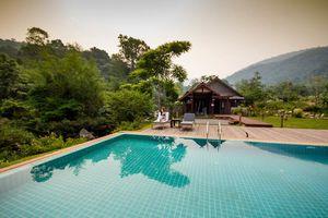 zwembad van Nam Kat Yorla Pa - Nam Kat Yorla Pa - Laos