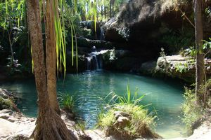 Piscine de Naturelle - Isalo National Park - Madagaskar