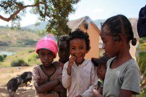 Kinderen Betsileo Walk - Fianarantsoa - Fianarantsoa - Madagaskar