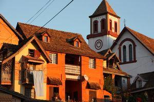 Huizen in Fianarantsoa