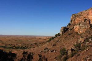 Landschap Isalo - Isalo - Madagaskar