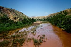 Tsiribihina rivier - Tsiribihina rivier - Madagaskar