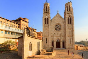 Andohalo kathedraal - Antananarivo - Madagaskar