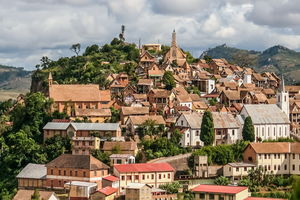 Fianarantsoa overview - Fianarantsoa - Madagaskar