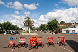 Rickshaws in Antsirabe - Antsirabe - Madagaskar